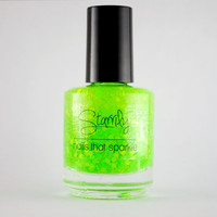 Zombie Blood- Handmade nail polish Full bottle