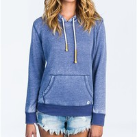 Billabong Open Roadz Hoodie - Blue Indigo - J6051OPE				 | 