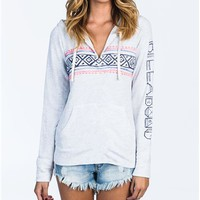 Billabong RIGHT PLACES HOODIE - Cool Wip Heather - J6123RIG				 | 