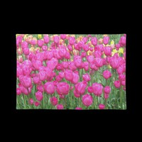 Pink Tulips Place Mats from Zazzle.com