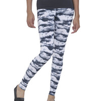 Cloud Print Legging | Shop Just Arrived at Wet Seal