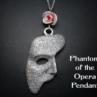 Phantom Of The Opera Necklace Sparkly Edition