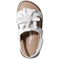 Infant Girl&#x27;s Genuine Baby from OshKosh Alexandria Sandal - White