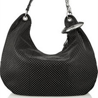 Jimmy Choo | Solar studded leather hobo bag | NET-A-PORTER.COM