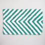 Chevron Chenille Bath Mat