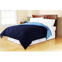 Walmart: Mainstays Reversible Soft Brushed Microfiber Bedding Comforter