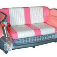 Cadillac Sofa Pink - 1959 Cadillac Sofa