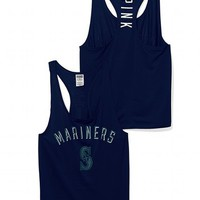 Seattle Mariners Mesh Racerback Tank