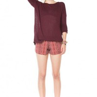 Brandy ♥ Melville |  Carlina Knit Top - Clothing