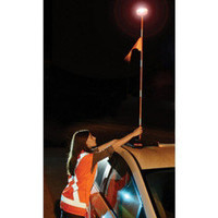 The 4 1/2&#x27; High Roadside Emergency Beacon - Hammacher Schlemmer