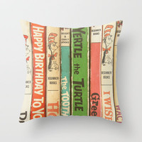 Seuss Love Throw Pillow by ShadeTree Photography