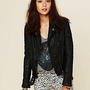 Muubaa  Quilted Leather Jacket at Free People Clothing Boutique