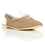 Natural Oxford Flat