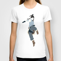 Korra T-shirt by JHTY23