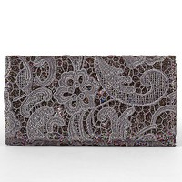 Lace Overlay Glitter Wallet - Women&#x27;s Bags | Buckle