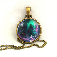 10% SALE Necklace Deep Galaxy Jewelry Universe Space Pendant Necklaces,Constellation,Gift For Her