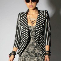 Indecent Obsession Blazer - Iron Fist Clothing