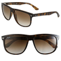 Ray-Ban 'Boyfriend Flat Top Frame' 60mm Sunglasses | Nordstrom