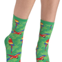 Wearable Whimsy Socks in Parrots | Mod Retro Vintage Socks | ModCloth.com