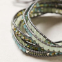 Anthropologie - Shimmer Stone Wrap Bracelet