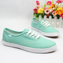 Buy Fashion Mint green Canvas Shoes on Shoply.