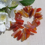 Carnelian Crystal Gemstone Elasticated Bracelet - Special Offer