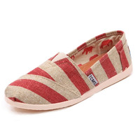 Stripes Canvas Shoes