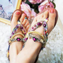 Bohemian Flat T-M  Sandals  from sniksa