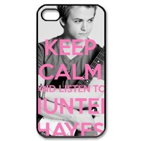 Hunter Hayes Hard Plastic Back Cover Case for iphone 4 4s