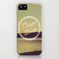 Carpe Diem  iPhone & iPod Case by Rachel Burbee
