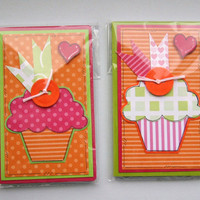 Little Cupcakes - Set of Two Mini Notebooks
