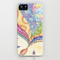 The Painted Quilt iPhone & iPod Case by Catherine Holcombe
