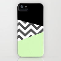 Color Blocked Chevron 3 iPhone & iPod Case by Josrick