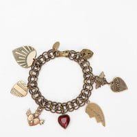 Ornamental Things Cordata Charm Bracelet