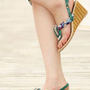 Bohemian Wedge T-M  Sandals  from sniksa