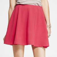 STRETCH COTTON SKATER SKIRT