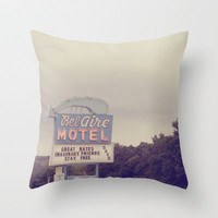 Imaginary Friends Stay Free Throw Pillow by Christine Hall