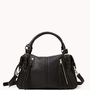 Faux Leather Bowler Bag | FOREVER21 - 1056971855