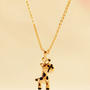 Cutie Giraffe Fashion Necklace | LilyFair Jewelry