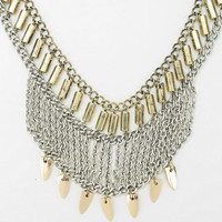 Spiked Mesh Necklace