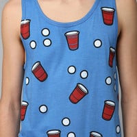 Character Hero Beer Pong Tank Top