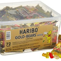 Haribo Gold-Bears Minis, 72-Count:Amazon:Grocery & Gourmet Food
