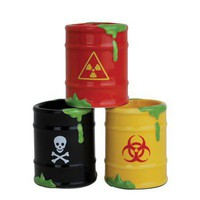 Toxic Waste Shot Glass Set - Whimsical & Unique Gift Ideas for the Coolest Gift Givers