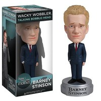 How I Met Your Mother Barney Stinson - Wacky Wobbler Talking Bobble Head  - Whimsical & Unique Gift Ideas for the Coolest Gift Givers