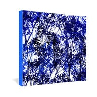 DENY Designs Home Accessories | Garima Dhawan Autumn Indigo Gallery Wrapped Canvas
