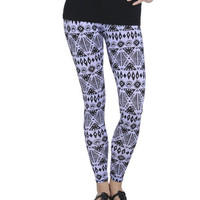 Lavender Tribal Print Legging | Shop Bottoms at Wet Seal