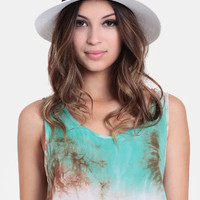 Mischa Straw Fedora - $18.00 : ThreadSence, Women's Indie & Bohemian Clothing, Dresses, & Accessories
