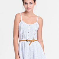 Mornings in Vienna Belted Romper - $42.00 : ThreadSence, Women's Indie & Bohemian Clothing, Dresses, & Accessories