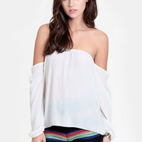 Simple Life Off Shoulder Top - $32.00 : ThreadSence, Women's Indie & Bohemian Clothing, Dresses, & Accessories