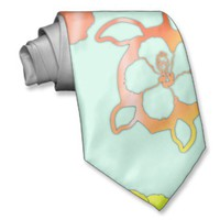Tie Die Honu And Hibiscus from Zazzle.com